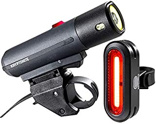 Kryptonite Alley F-650 and Avenue R-50 COB Light Combo Black, One Size