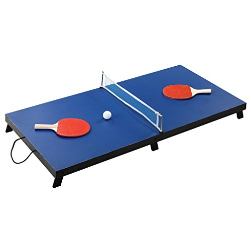 Hathaway BG1025T Drop Shot 42-in Folding Portable Table Tennis Set – Includes...