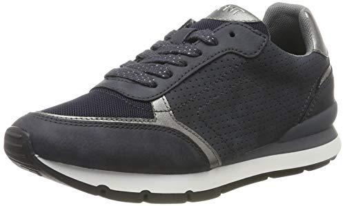 ESPRIT Damen Blanchet LU Sneaker, Blau (Navy 400), 39 EU