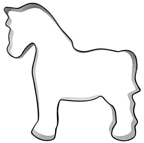 Formina Pferd 10 cm Edelstahl Ausstechform Keksausstecher