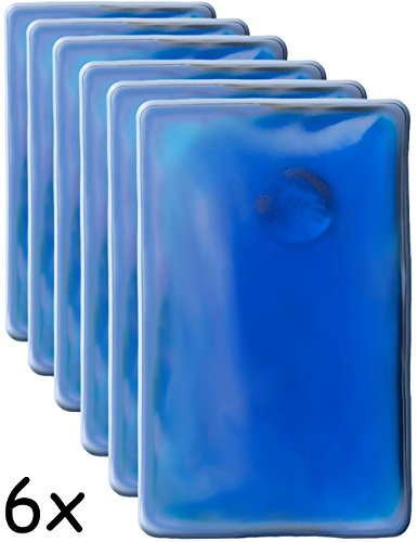 HOMETOOLS.EU®,6 cuscini riscaldati, scaldatasche, cuscino gel, scalda-mani, si riscaldano da soli, lunga durata, riutilizzabili | 10x 6,5cm, confezione da 6