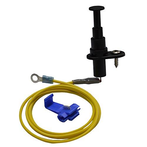K&K Marderschutz Abwehr 1001 Motorhaubenschalter mit Sofortentladungsfunktion