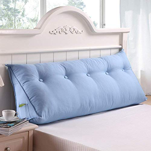 YLCJ driehoekig kussen/Tatami-kussen/zachte slaapzak voor twee personen, grote kussens op het bed/hoofdsteun - D 200 x 25 x 50 cm (79 x 10 x 20)