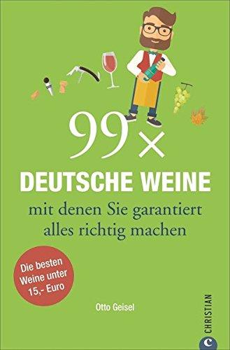 Weinguide: 99 deutsche Weine mit denen Sie garantiert nichts falsch machen können. Die besten Weißen, Roten und Rosés unter 15,- Euro. Hier finden Sie die Wahrheit über gute, deutsche Weine!