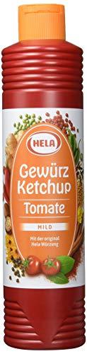 Hela Tomaten-Gewürz- Ketchup (1 x 800 ml Tube)