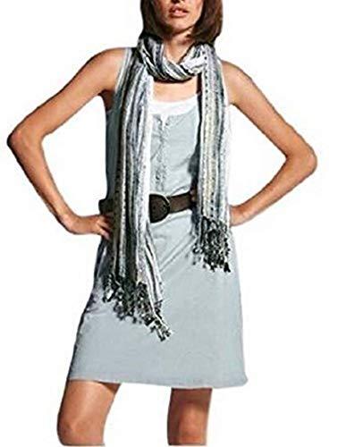 Chillytime jurk met witte onderjurk mintgroen wit