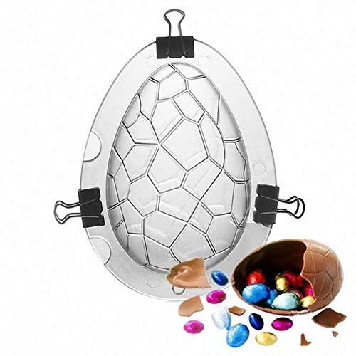 KDSANSO Muffa al Cioccolato,Forma del Coniglietto di Pasqua Stampo per Dolci Decorazione di Torte Stampo 3D per Il Compleanno di San Valentino a Pasqua,Trasparente 11.5 * 15 * 6.8cm