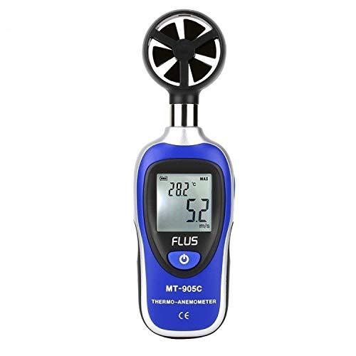 Dhmm123 Digital Tragbare Anemometer-Thermometer Windgeschwindigkeit Messgerät Meter Anemometro Windmesser LCD-Anzeigen-Digital-Handheld-Tester Spezifisch