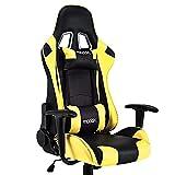 Cadeira Gamer Gt Racer Preto e Amarelo