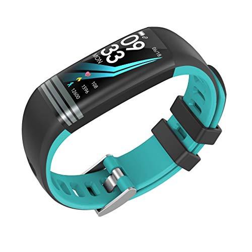 Clacce G26S Fitness Tracker Uhr Bluetooth Smart Uhr Armband Armband Schrittzähler Sport Fitness Tracker Überwachung Smart Watch Monitor Schritt Kalorien Schlaf Sport Smart Band