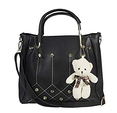 SaleBox PU Leather Handbag for Women's/Handbag for Girls/Shoulder leather handbags for girls stylish latest Bag Pack of Two (Small Size)
