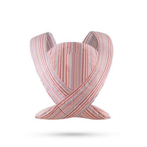 Mjd Portabebés Baby Sling Antes y Después de Doble Uso Baby out Sling Simple Sujetador Delantero para bebé Sling Tradicional para bebé Los Niños Mochila (Color : Red)