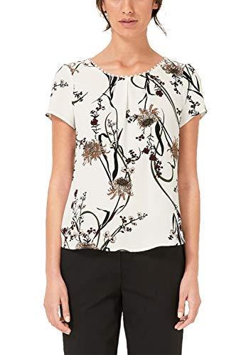 s.Oliver BLACK LABEL Damen 01.899.12.5530 Bluse, Weiß (White 02a1), (Herstellergröße: 44)