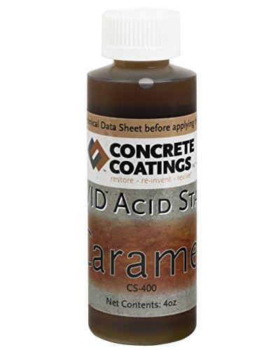VIVID Acid Stain - 4oz - Caramel (Light, Yellowish Brown)