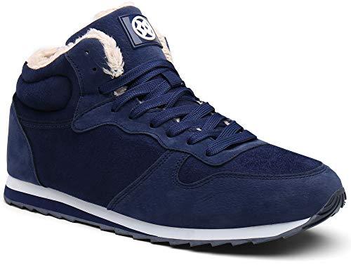 Gaatpot Zapatos Invierno Botas Forradas de Nieve Zapatillas