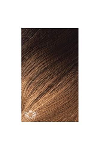 Foxy Locks - Extension ultra spesse per coda di cavallo, 100% capelli umani Remy, colore: Moka Toffee Ombre