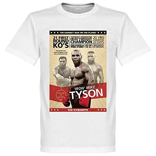 Retake Mike Tyson Boxen-T-Shirt, Weiß XXL weiß