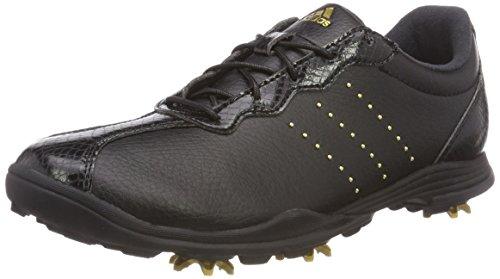 adidas Damen W Adipure DC Golfschuhe, schwarz F33618, 41 1/3 EU