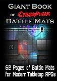 Livre Plateau de Jeu The Giant Book of CyberPunk Battle Mats A3