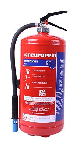 9L Wasserlöscher W9DS - Feuerlöscher 15 LE FLN Neuruppin (Instandhaltungsnachweis von HausundWerkstatt24)