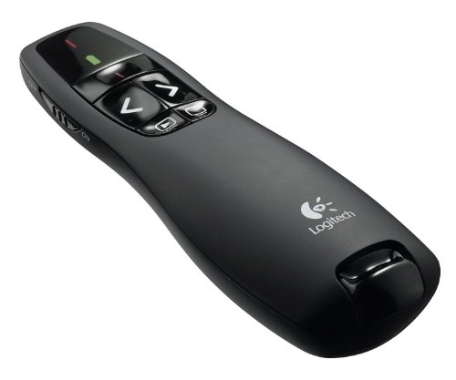 Logitech Wireless Presenter R400 Presentation Wireless Presenter with Laser Pointer