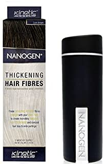 Nanogen Hair Building Fiber, Light Brown 30 Grams