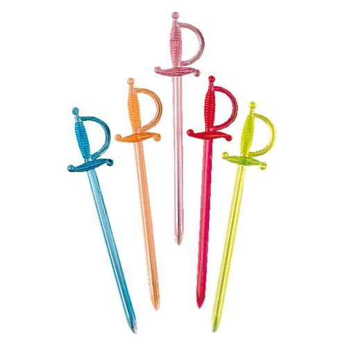 Garcia de Pou 1000Einheit Picks Schwert, Sortiert, 30x 30x 30cm