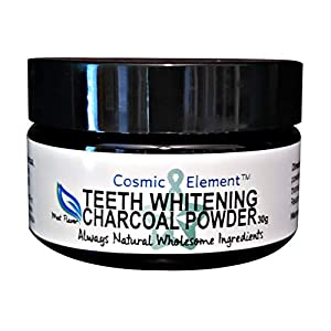 Activated Charcoal Teeth Whitening Powder for Best Oral Care – Natural Toothpaste – Organic Coconut Charcoal – Freshens Breath – Antibacterial Tooth Powder – Made in USA, 1oz