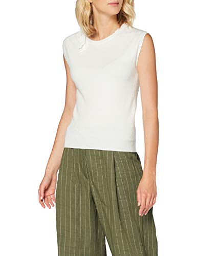 Naf Naf Menu38 Camiseta, Marfil (Écru 333), X-Large para Mujer