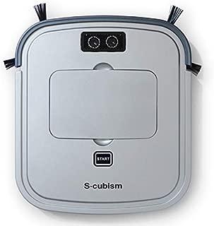 エスキュービズム ロボット掃除機(シルバーメタリック/ガンメタリック)【掃除機】S-cubism SCC-R05SM
