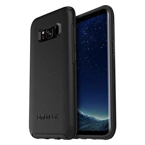 OtterBox Symmetry sturzsichere Schutzhülle für Samsung Galaxy S8, schwarz