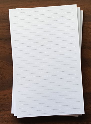 3 Pads - Lined Note Pad, 5