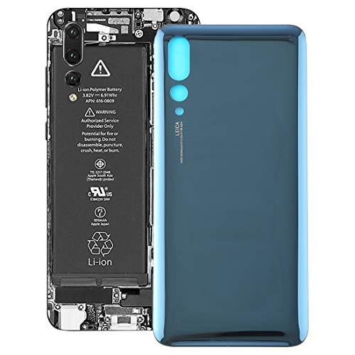 XINGCHEN Piezas de Repuesto Tapa Trasera for Huawei P20 Pro (Negro) (Color : Blue)