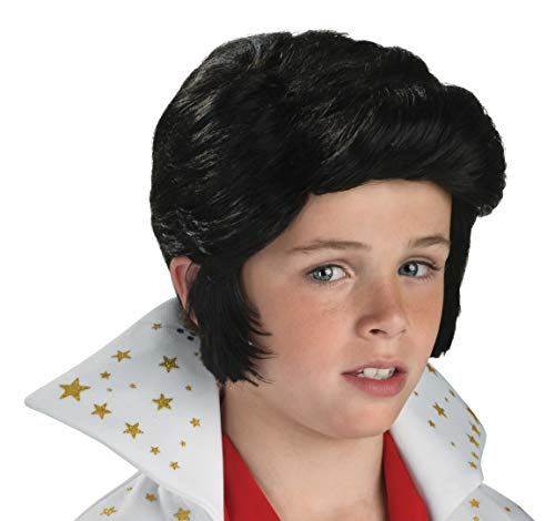 Rubies Elvis Presley Child Wig Black, Small