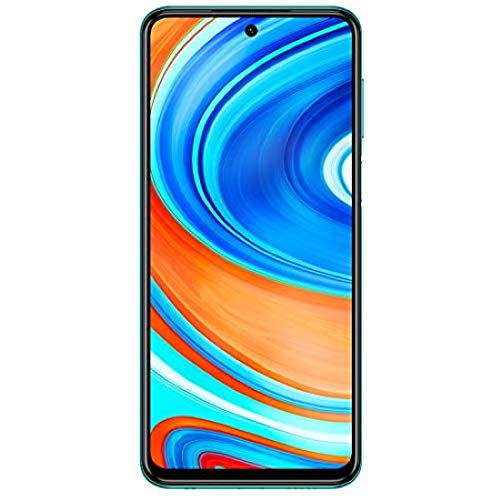 Xiaomi Redmi Note 9 Pro Smartphone 4G (6.67 Zoll, 6GB RAM, 64GB Speicher, 5020mAh, Quad Camera, NFC), tropical green [deutsche Version]
