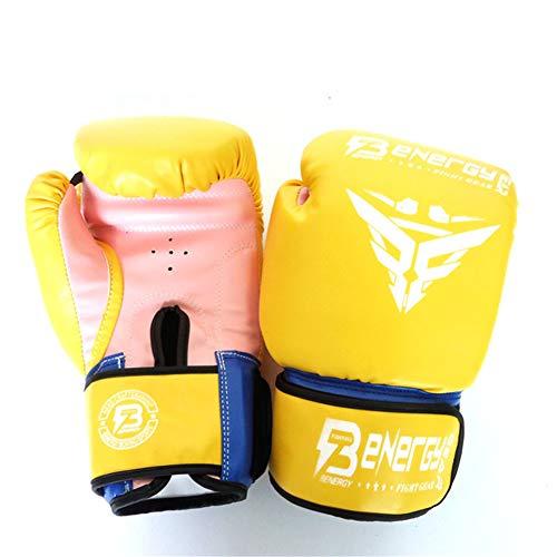 Ziyi Lucha ponche Bolsa de Combate de Muay Thai Grappling Lucha Mitones...