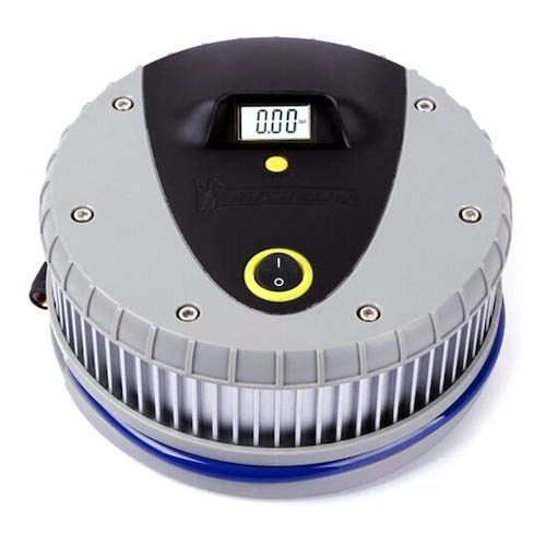 HaiMa 4387 Pantalla Digital De Presión De Los Neumáticos De La Bomba De Aire Del Coche Portátil - Gris
