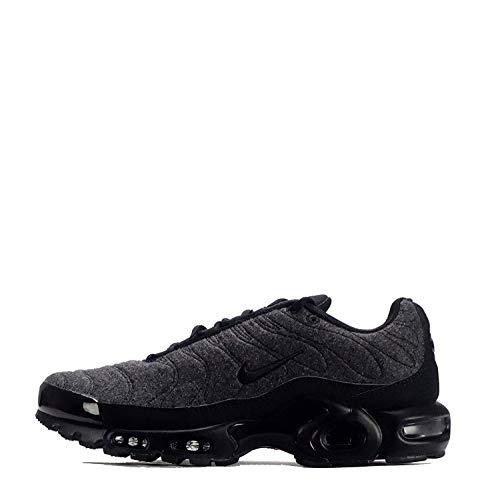 Nike Air Max Plus Quilted Mens Running Trainers 806262 Sneakers Shoes (UK 6 US 7 EU 40, Black Anthracite 022)