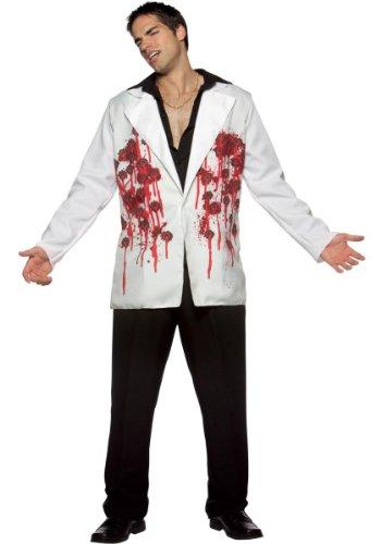 Rasta Imposta 7647 zwart/wit kogels Blazer kostuum (een maat)