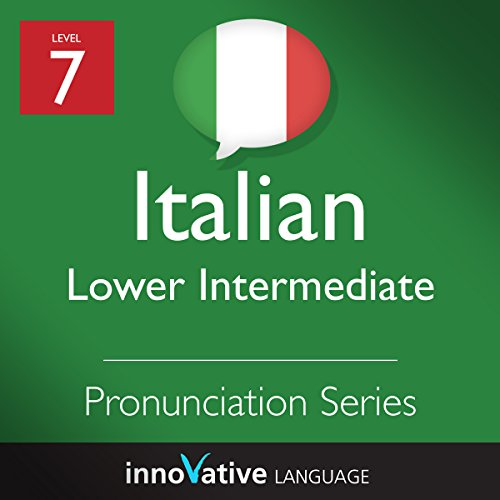 Intermediate Pronunciation Series (Italian) audiobook cover art