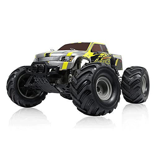 KGUANG Bigfoot Off-road RC Car High-Speed 35km / h Tracción trasera, Amortiguador, Escalada 2.4G Buggy de control remoto Escala 1/10 Vehículo eléctrico de juguete para niños Regalo de cumpleaños par