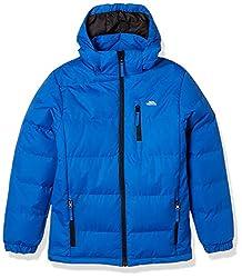 Padded jacket 3 Low profile zip pockets Adjustable zip off hood