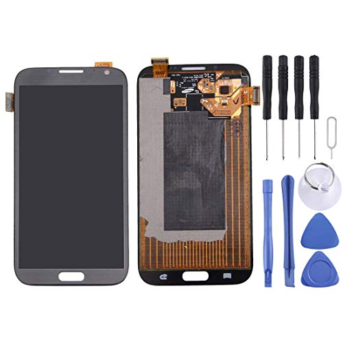 Schermo LCD Galassia Display LCD + Touch Panel for Galaxy Note II / N7100 (Bianco) (Colore : Color1)