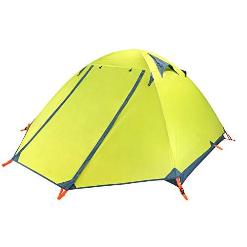 Azarxis Tente de Camping 2 Personnes 4 Saisons Tente Dôme 2 Places Tente Ultra Légère Tente...