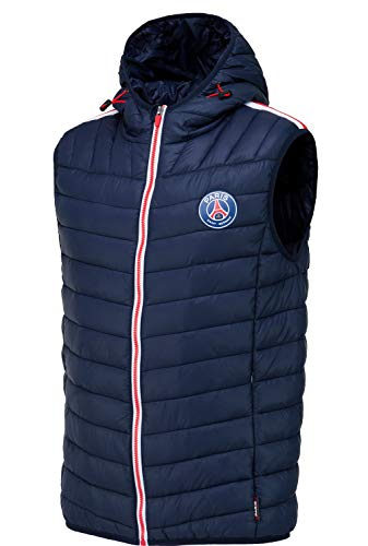 PARIS SAINT GERMAIN PSG Puffy mouwloze jas - Officiële collectie Kindermaat