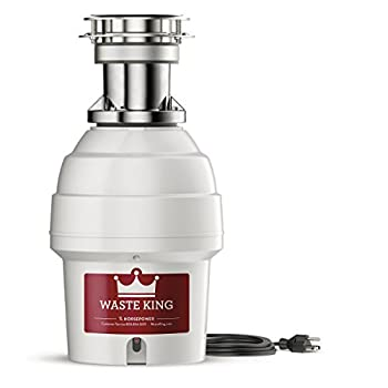 Waste King 9900TC Batch Feed Garbage Disposal with Power Cord, 3/4 HP review