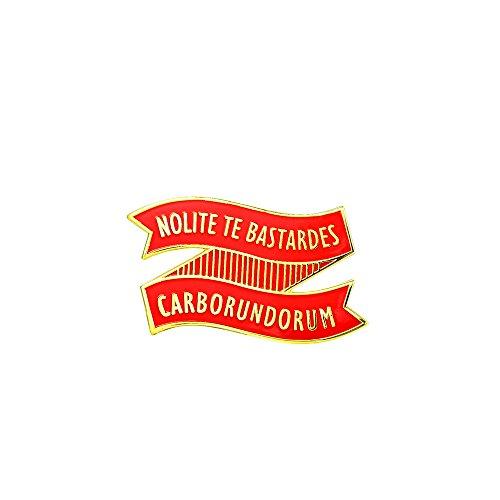 GuDeKe Margaret Atwood Nolite Te Bastardes Carborundorum Pin Broche Handmaid's Tale