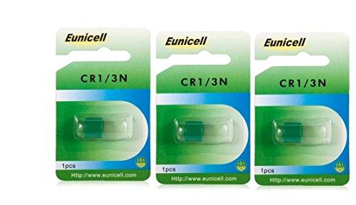 3 x EUNICELL (CR1)/3N, DL1-/ 3N, 2L76 Batterie 3v LITHIUM PHOTO Batterie