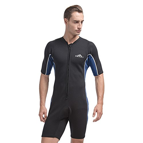 Unisex Short Sleeve 2mm Wetsuit by Shorty Wetsuit