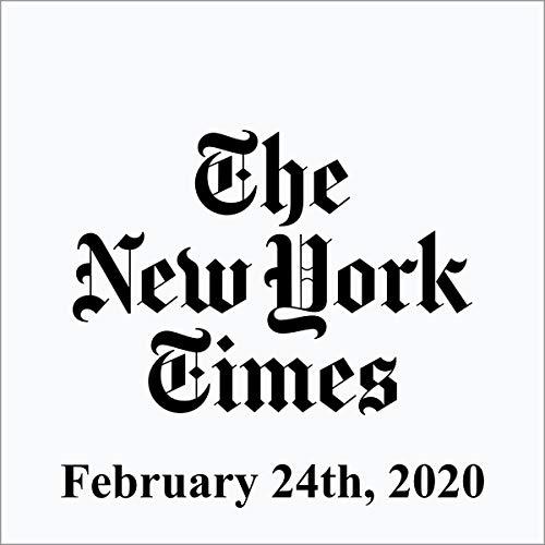 February 24, 2020 audiobook cover art